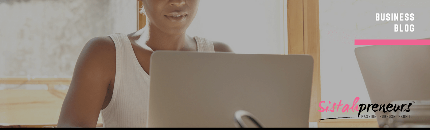 black woman entrepreneur website planning