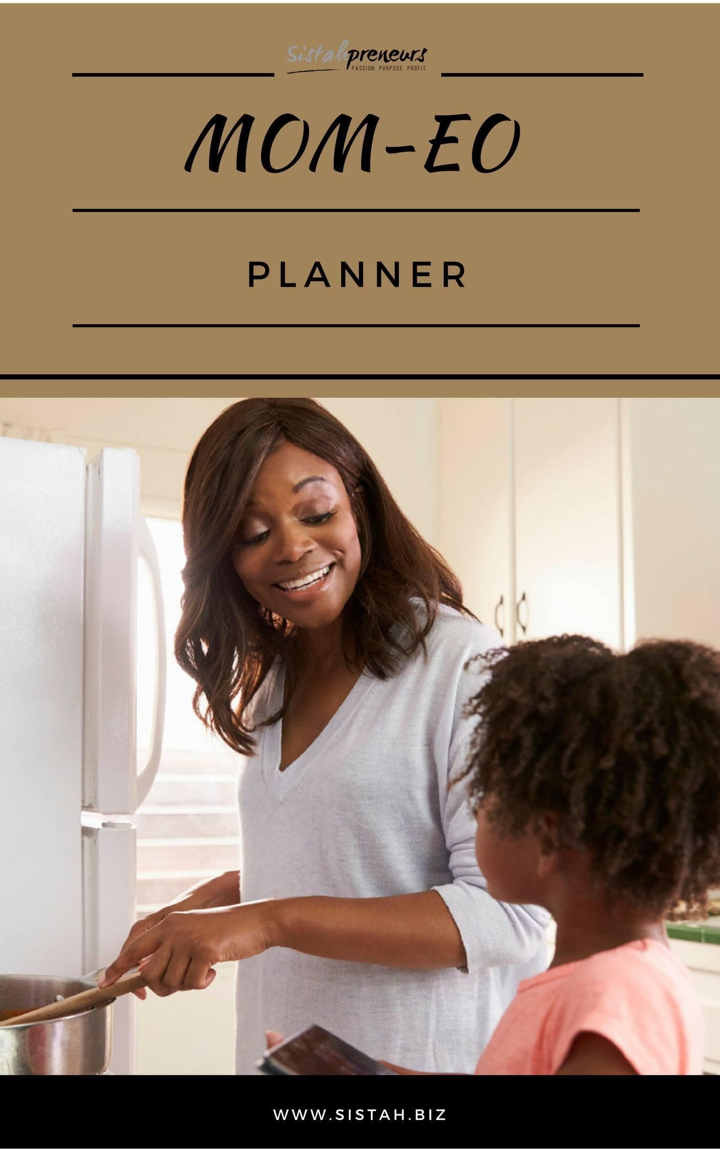 Black women CEO Mom-EO cover
