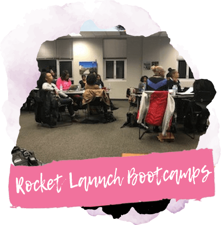 Black women business bootcamp img_rocket-launch