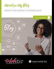 Sistahbiz Social Media Maven Planner