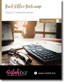 Back Office: Managing Money