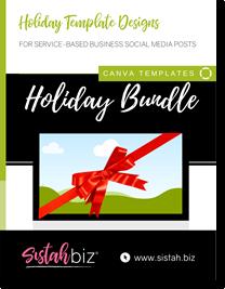 Canva Holiday Service Templates