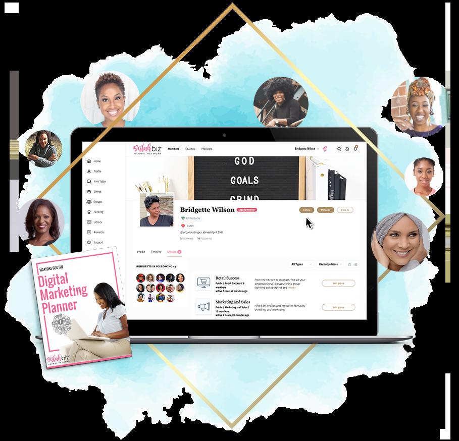 Sistahbiz Black Women Entrepreneurs Membership